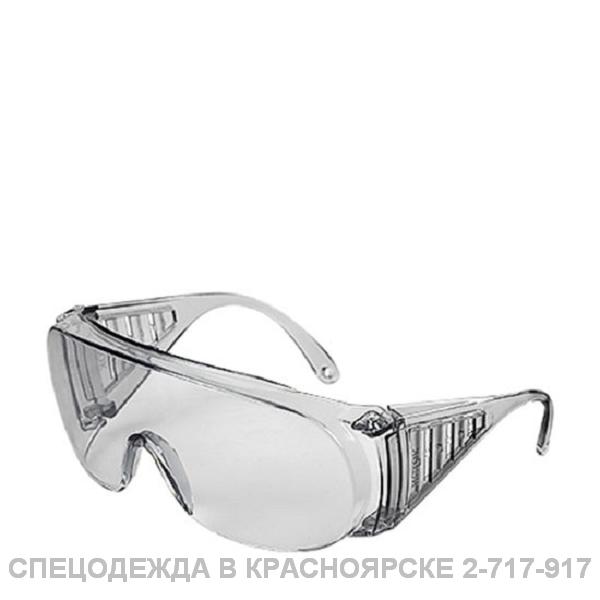Очки ИСТОК защитные, открытые, прозрачные