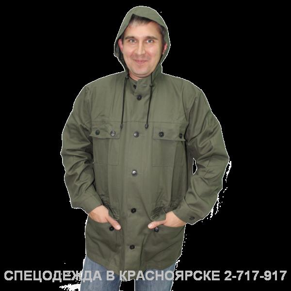 """""""Куртка–штормовка (тк. палатка) хаки"""