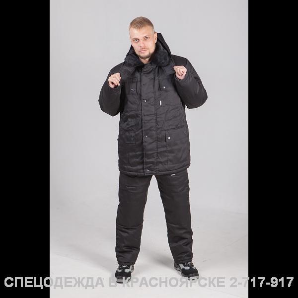 Костюм зимний ОХРАНА (куртка/брюки)