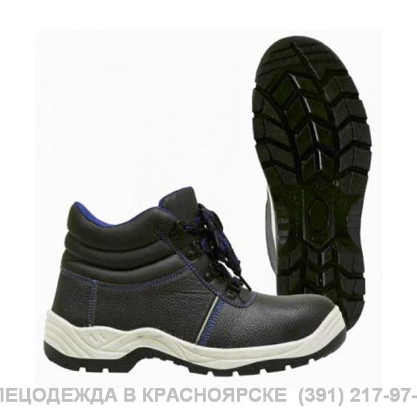 Ботинки кожаные ПУ/ПУ с МП