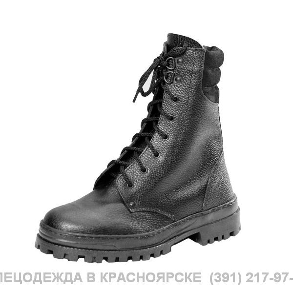 Ботинки ОМОН кожаные