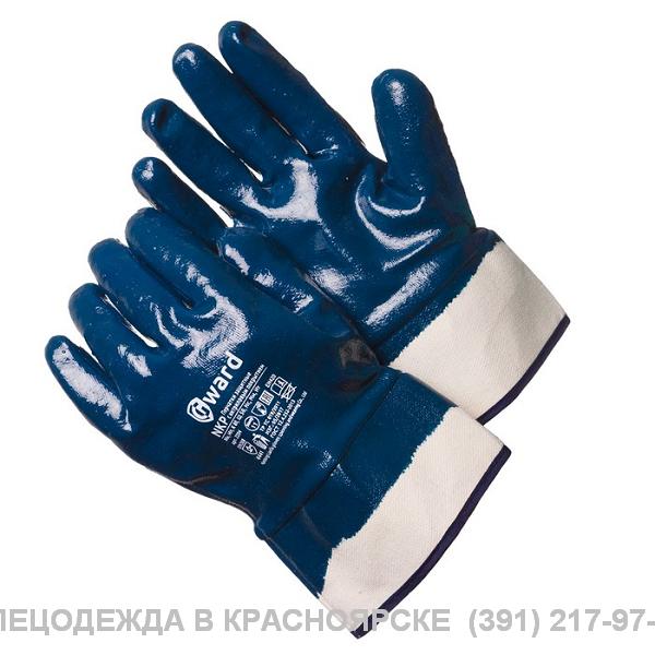 Перчатки нитриловые , полный облив (манжет /крага)