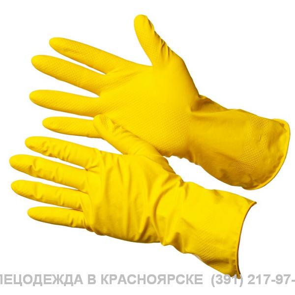 """Перчатки резиновые хозяйственные """"Лотос"""""""