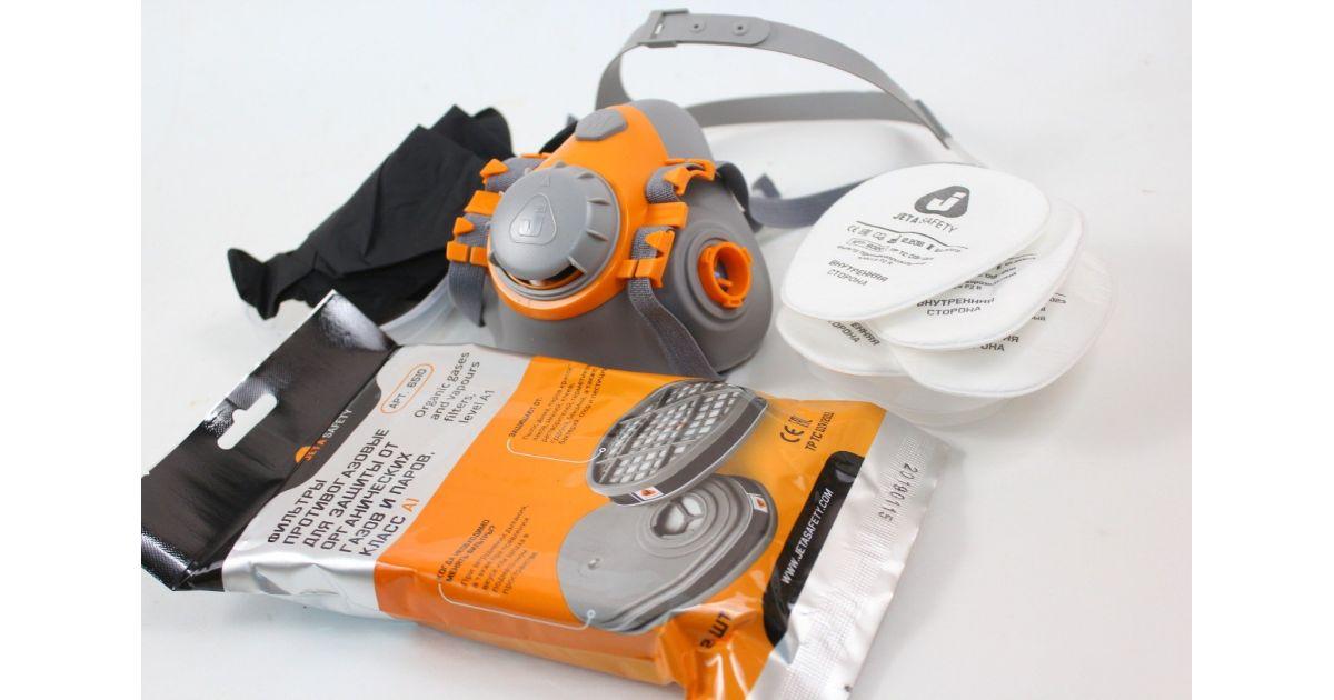 Комплект J–SET 6500 (полумаска, фильтры, перчатки)