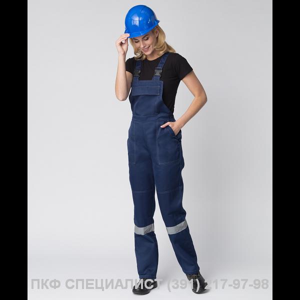 """Костюм женский """"Весна–2 СОП NEW""""  т. синий, василек."""