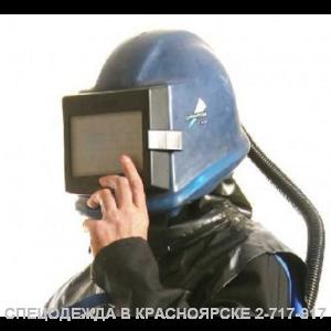 Шлем пескоструйщика Commander II с кожаным наголовником
