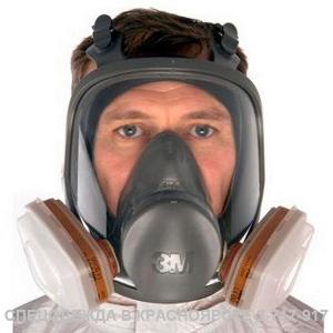Полная лицевая маска 6000 серия (3М)