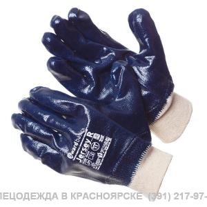Перчатки нитриловые , полный облив (манжет /резинка )
