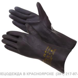 Перчатки Gward HD27 химстойкие  латекс+неопрен